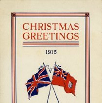 Image of Guelph Mercury Christmas Card, 1915