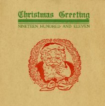 Image of Guelph Mercury Christmas Card, 1911