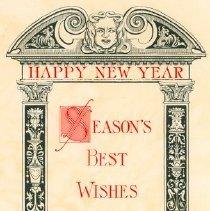 Image of Christmas Card, Edward Johnson
