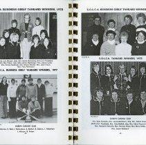 Image of Business Girls' Tankard Winners, 1972, 1977, 1986, pp.42-43