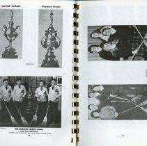Image of Sleeman Trophy, 1940-41; Ontario Junior Curling Finalists, pp.64-5