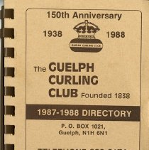 Image of The Guelph Curling Club 1987-1988 Directory