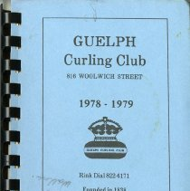 Image of Guelph Curling Club Telelphone Directory, 1978-1979