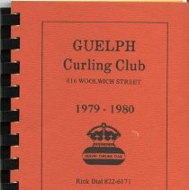 Image of Guelph Curling Club Telephone Directory, 1979-1980