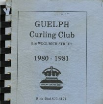 Image of Guelph Curling Club Directory, 1980-1981