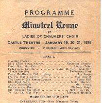 Image of Ladies of Chalmers Revue 1925