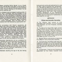 Image of Article III - Officers and Executive Committee, p.5