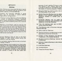 Image of Article VI - Meetings, pp.12-13