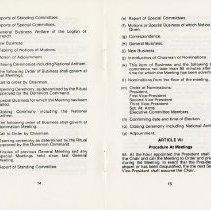 Image of Article VII - Procedure at Meetings, p.15