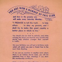 Image of Back of Membership Card