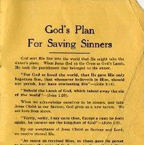 Image of God's Plan For Saving Sinners