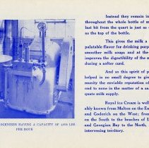Image of Royal Dairy Brochure, page 12
