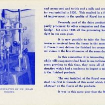Image of Royal Dairy Brochure, page 7