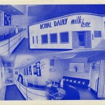 Image of Royal Dairy Advertising Brochure, Cover