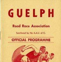 Image of Guelph Road Race Association Program, Oct.10, 1966