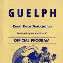 Image of Guelph Road Race Association Program, October 9, 1967