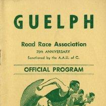 Image of Guelph Road Race Association Program, Oct. 14, 1968