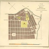 Image of Map of Guelph 1827
