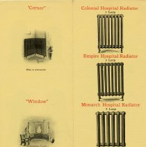 Image of Taylor-Forbes Booklet, Radiators, pages 19 and 20
