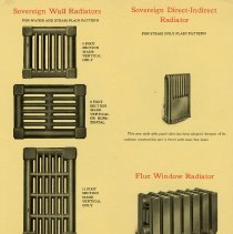 Image of Taylor-Forbes Booklet, Wall Radiators, pages 21 and 22
