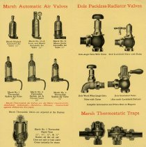 Image of Taylor-Forbes Bookely, Air and Radiator Valves, pages 25 and 26