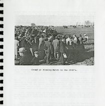 Image of Crowd at Plowing Match in the 1930s