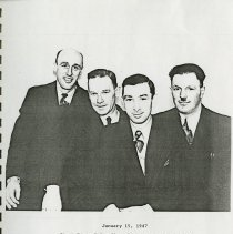 Image of First Team of Canadian Plowmen to go Overseas, 1947