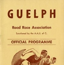 Image of Guelph Road Race Association Program, October 11, 1965