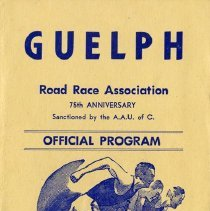 Image of Guelph Road Race Association Program, October 13, 1969.
