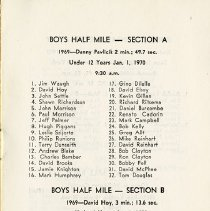 Image of Boys' Races, p.1