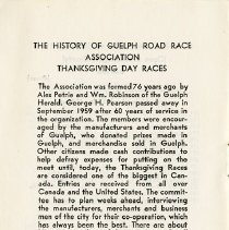 Image of History of Guelph Road Race Association; In Memoriam, p.8