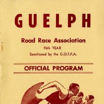Image of Guelph Road Race Association Program, October 12, 1970