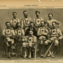 Image of The Maple Leaf Baseball Club of Guelph, Sept. 12, 1874