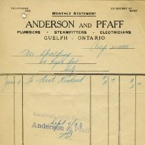 Image of Statement, Anderson and Pfaff, 1923