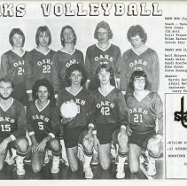 Image of Oaks Volleyball Team, p.24