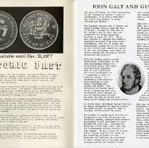 Image of John Galt and Guelph, p.1