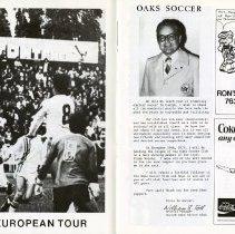 Image of Oaks European Tour; Oaks Soccer, pp.6-7