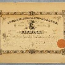 Image of 1995.29.1.1 - Diploma