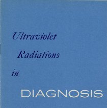 Image of Ultraviolet Radiations in Diagnosis, 1952