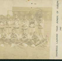Image of Shamrock Lacrosse Team, 1907