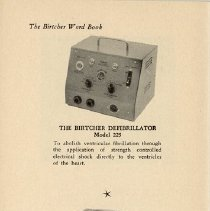 Image of The Birtcher Defibrillator; The Heartfacer, page 32