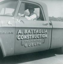 Image of A. Battaglia Construction Co. Truck