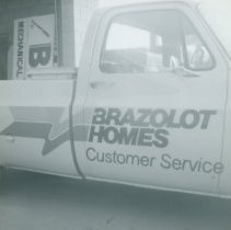 Image of Brazolot Homes Customer Service Truck