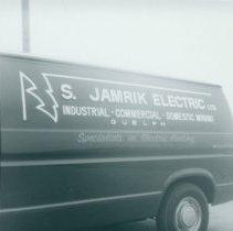 Image of S. Jamrik Electric Ltd. Panel Truck