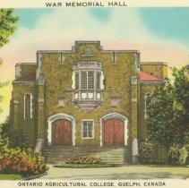 Image of War Memorial Hall, O.A.C.