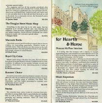 "Image of ""For Hearth & Home,"" pages 17 and 18"