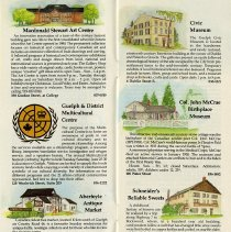 Image of Local Attractions in Guelph, pages 3 and 4