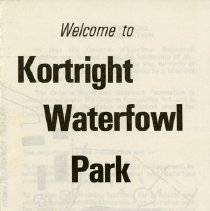 Image of Kortright Waterfowl Park Brochure