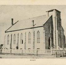 Image of Photograph of Knox Presbyterian Church, 1869