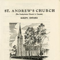 Image of .1 St. Andrew's Church Anniversary Service Program, 1977